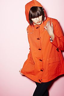 Orange coat better one